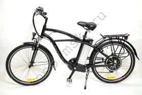 Электровелосипед E-motions Cruiser (Круизер) Luxe 500 w 26 дюймов (в 4-х цветах) - обновленная модель 2014г (Люкс)