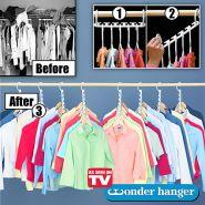Вешалка для одежды Wonder Hanger (Уандер Хэнжер) (8 штук) оригинальная