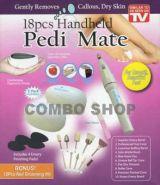 Набор для маникюра и педикюра Pedi Mate оригинальный 18 предметов